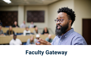 Click to go to Faculty Gateway